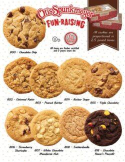 Otis Spunkmeyer Cookie Dough Fundraiser