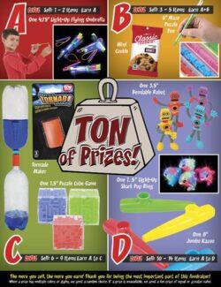 Ton of Prizes