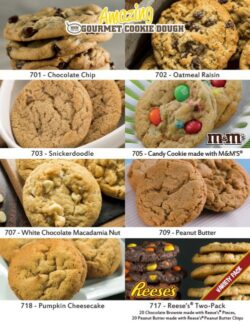 Amazing Gourmet Cookie Dough Single Sheet
