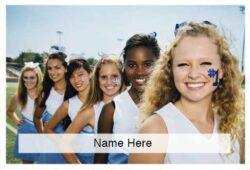 Cheerleading Scratchcard