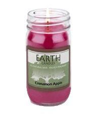 Earth Cinnamon Apple Candle