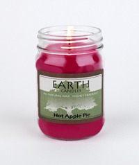 Earth Hot Apple Candle