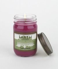 Earth Pomegranate Candle
