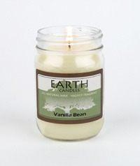 Earth Vanilla Bean Candle
