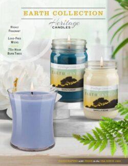Earth Candles Brochure Fundraiser