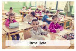 Elementary School Scratchcard