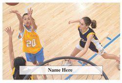 Girls Basketball Scratchcard