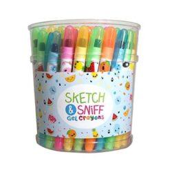 Sketch Sniff Gel Crayons