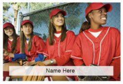 Softball Scratchcard